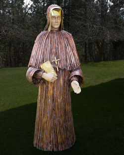 Mother Rose Statue
